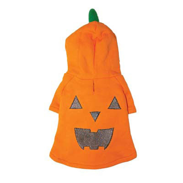 Pumpkin Dog Hoodie Sweatshirt by Dogo
