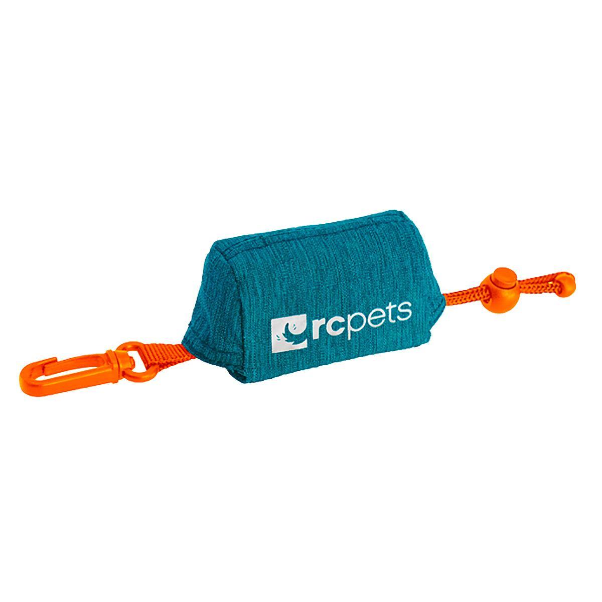 P.U.P Bag Dog Waste Bag Holder Leash Accessory - Heather Teal