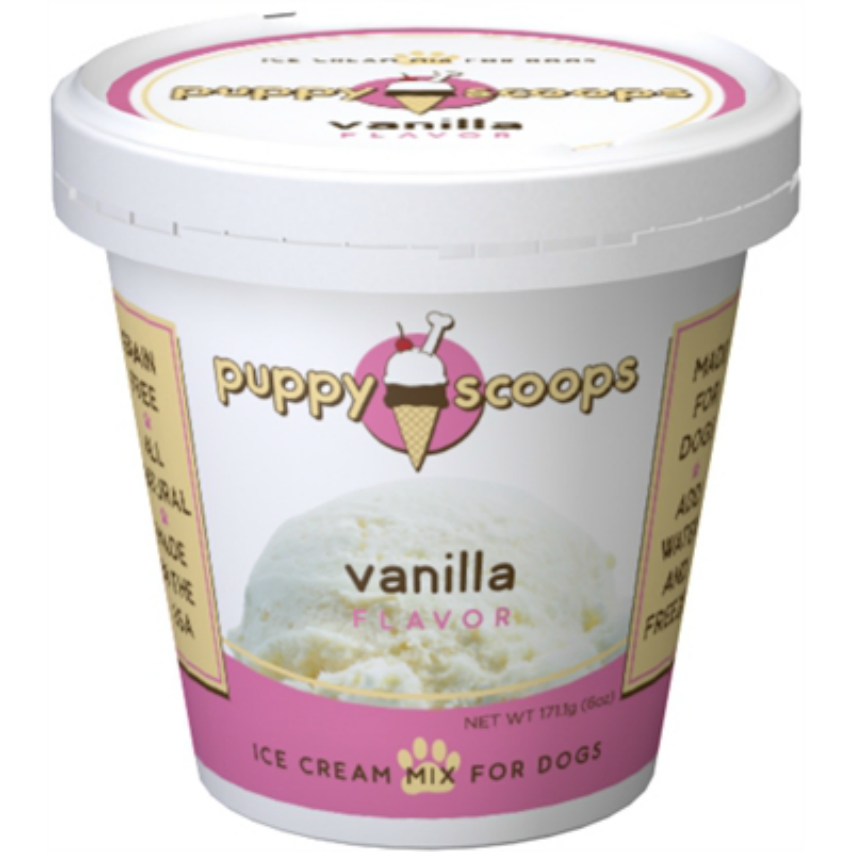 Puppy Scoops Ice Cream Mix - Vanilla