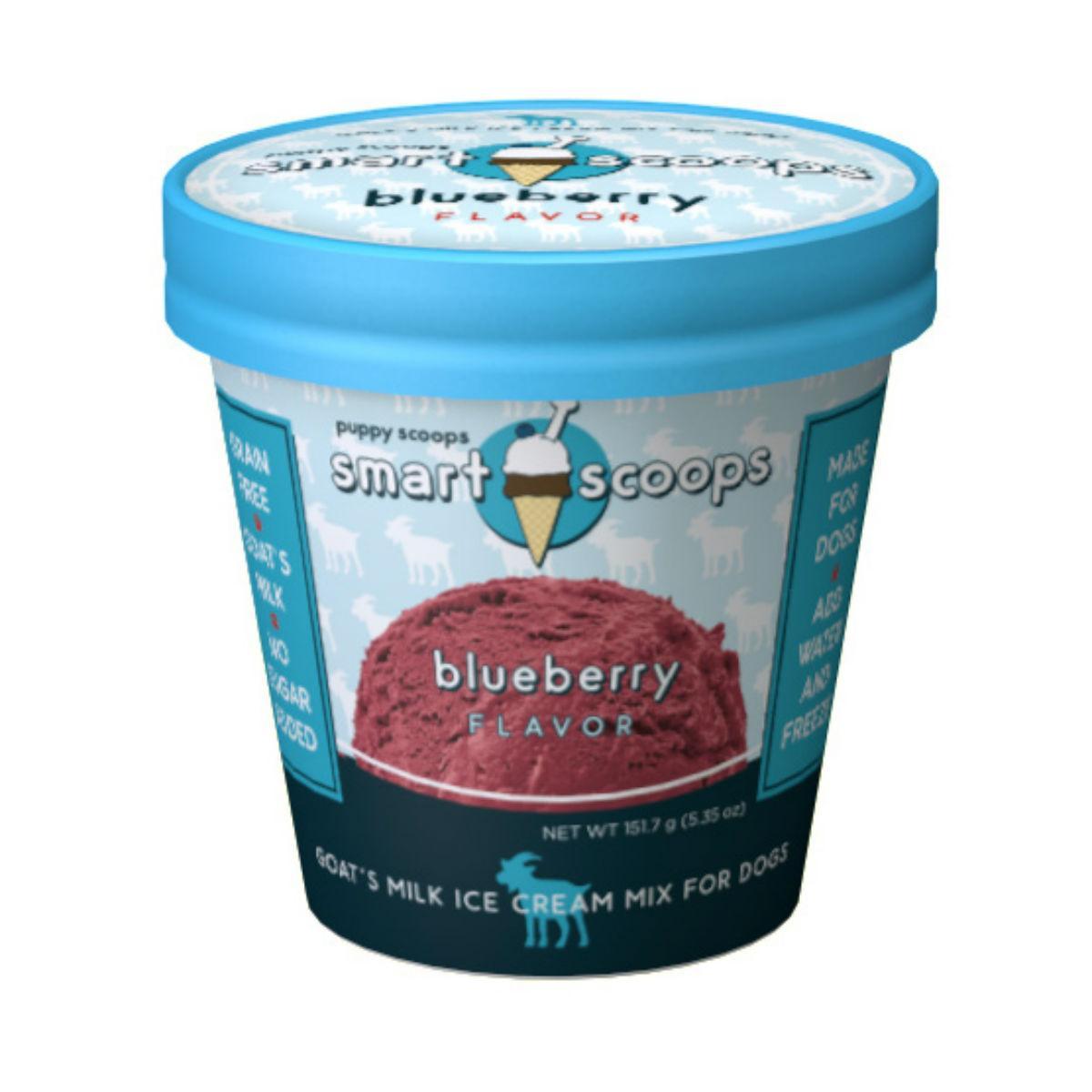 Puppy Scoops Ice Cream Mix - Blueberry