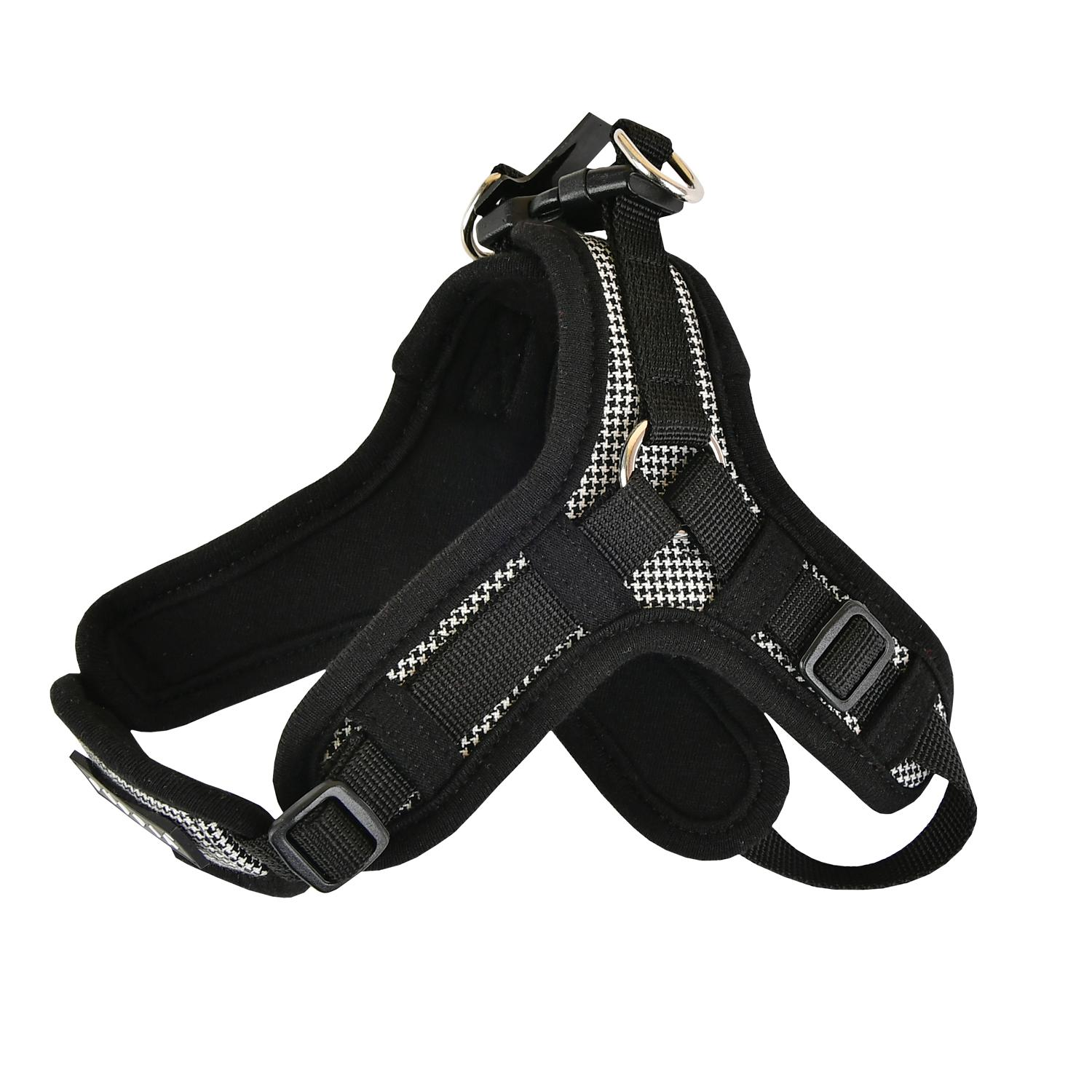 Puppytooth X Dog Harness By Puppia - Black