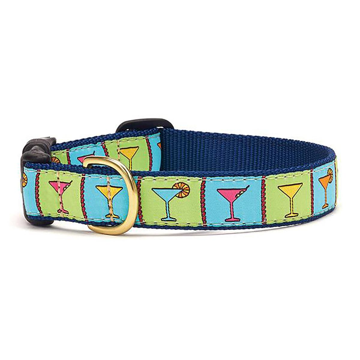 Martinis Dog Collar by Up Country