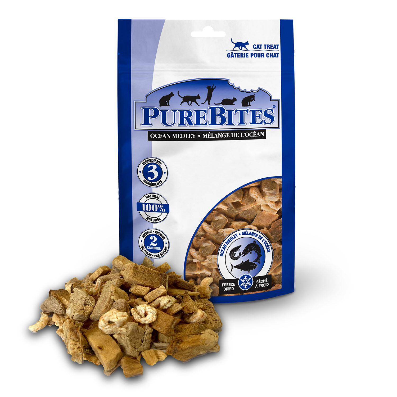 PureBites Freeze Dried Cat Treats - Ocean Medley