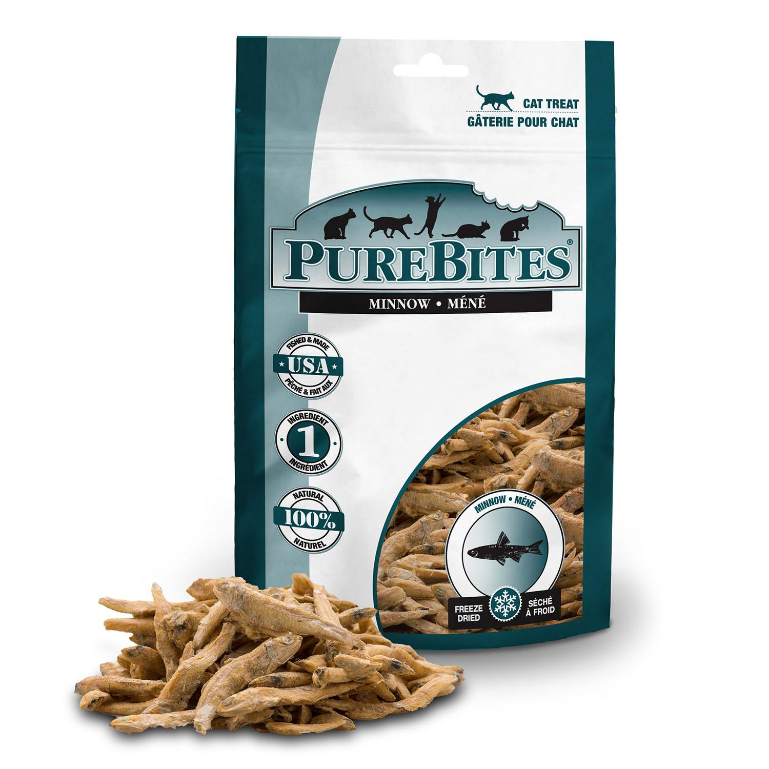 PureBites Freeze Dried Cat Treats - Minnow