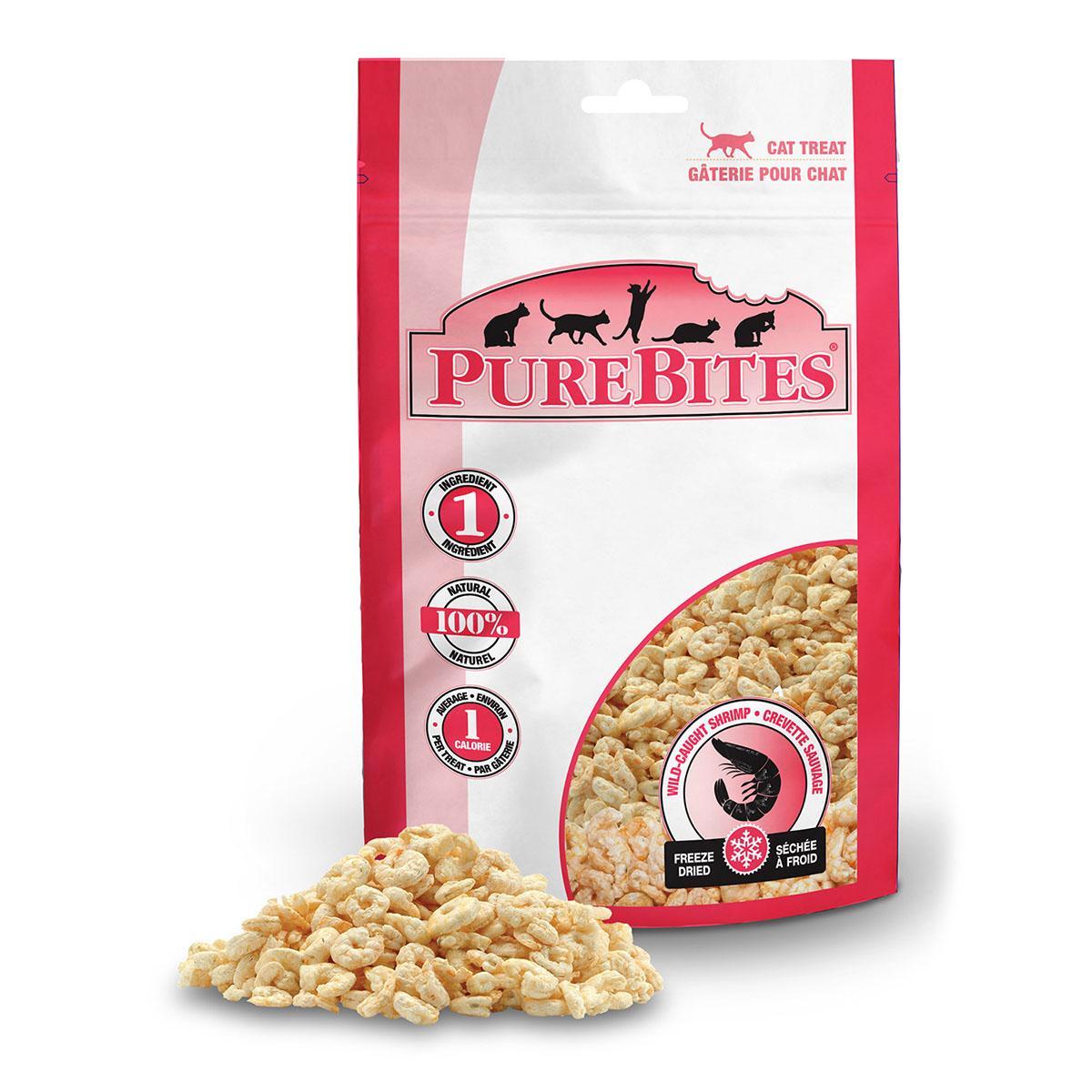 PureBites Freeze Dried Cat Treats - Shrimp