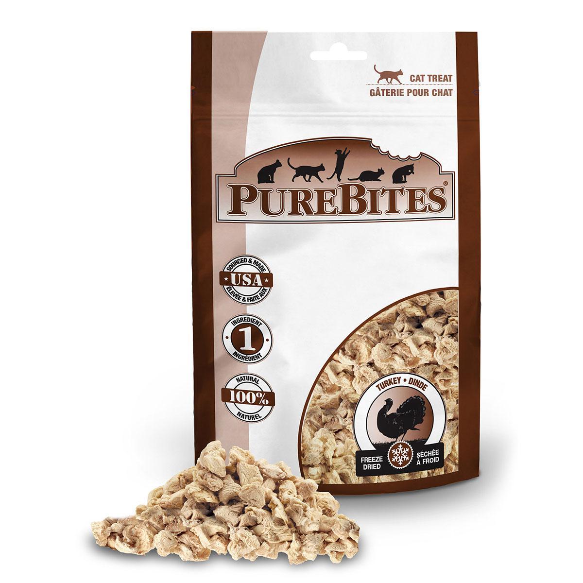 PureBites Freeze Dried Cat Treats - Turkey Breast