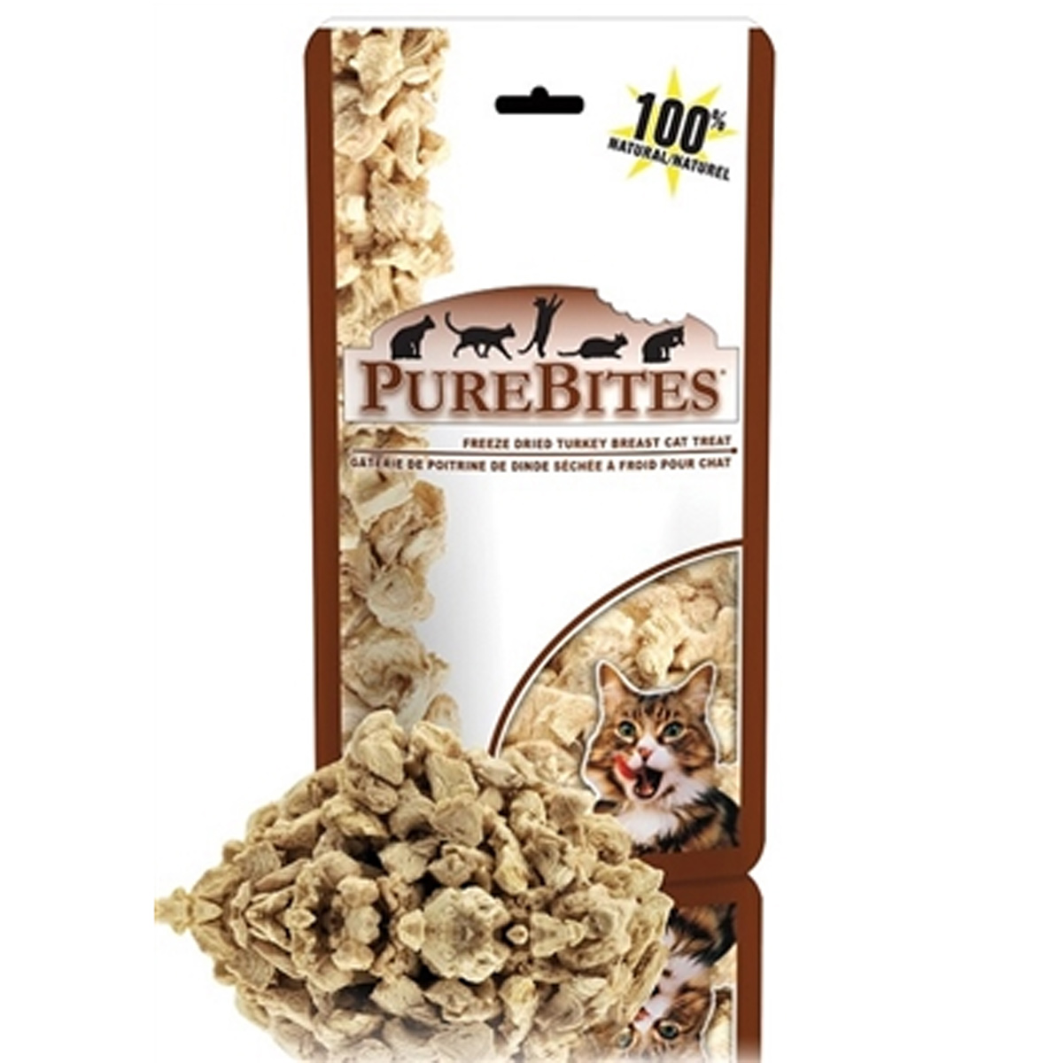 PureBites Cat Treats - Turkey Breast