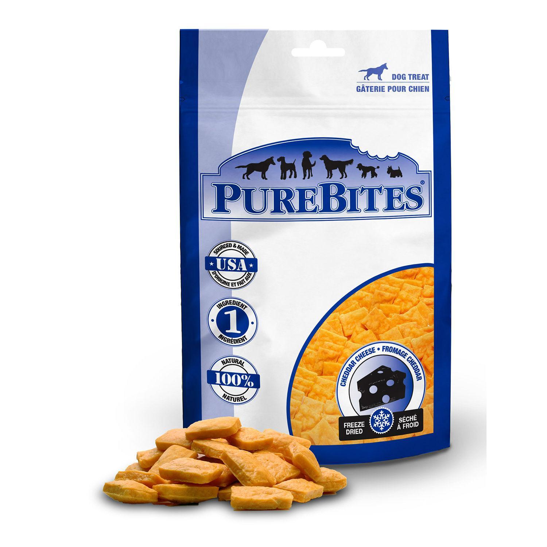 PureBites Freeze Dried Dog Treats - Cheddar Cheese