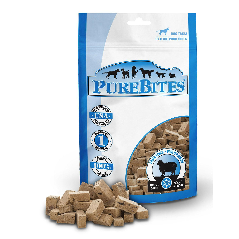 PureBites Dog Treats - Lamb Liver