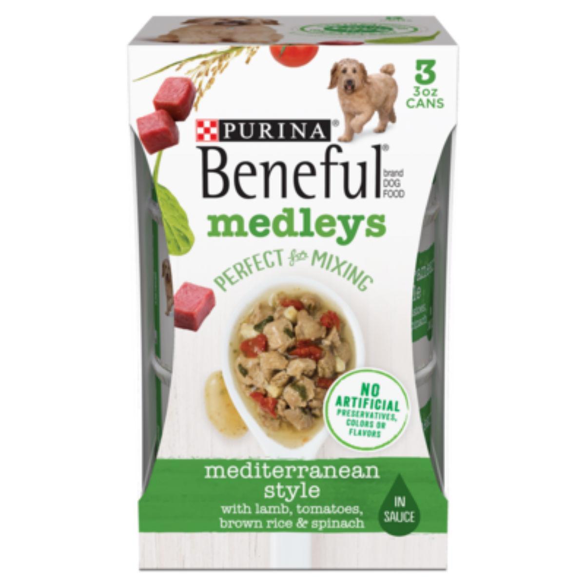 Purina Beneful Medleys Wet Dog Food - Mediterranean Style