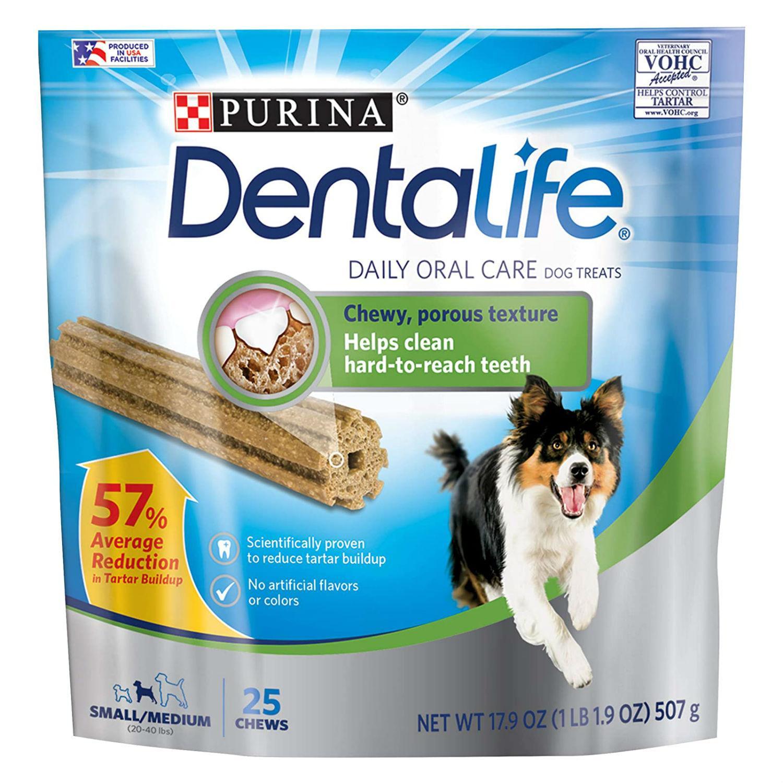 Purina Dentalife Daily Oral Care Dog Treats - Small/Medium