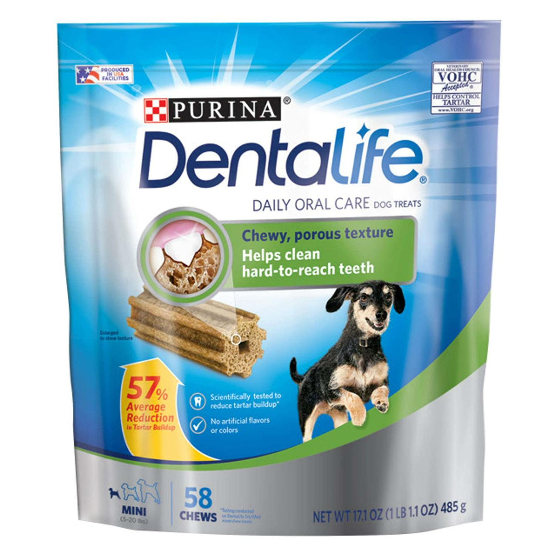 Purina Dentalife Daily Oral Care Dog Treats - Mini