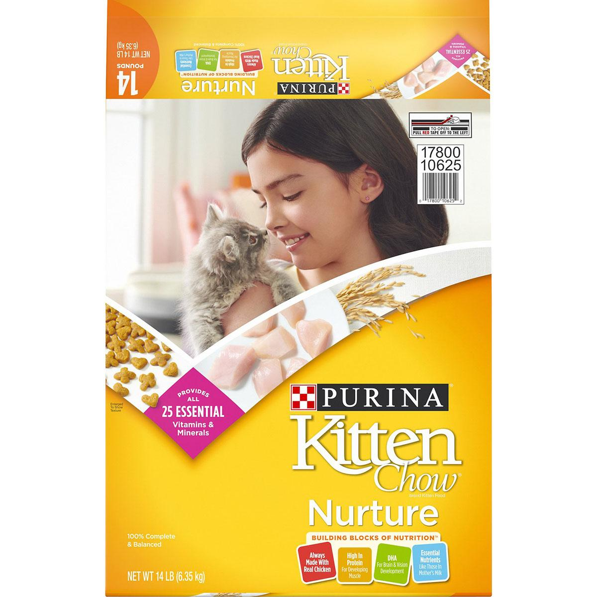 Purina Kitten Chow Nurture Dry Cat Food