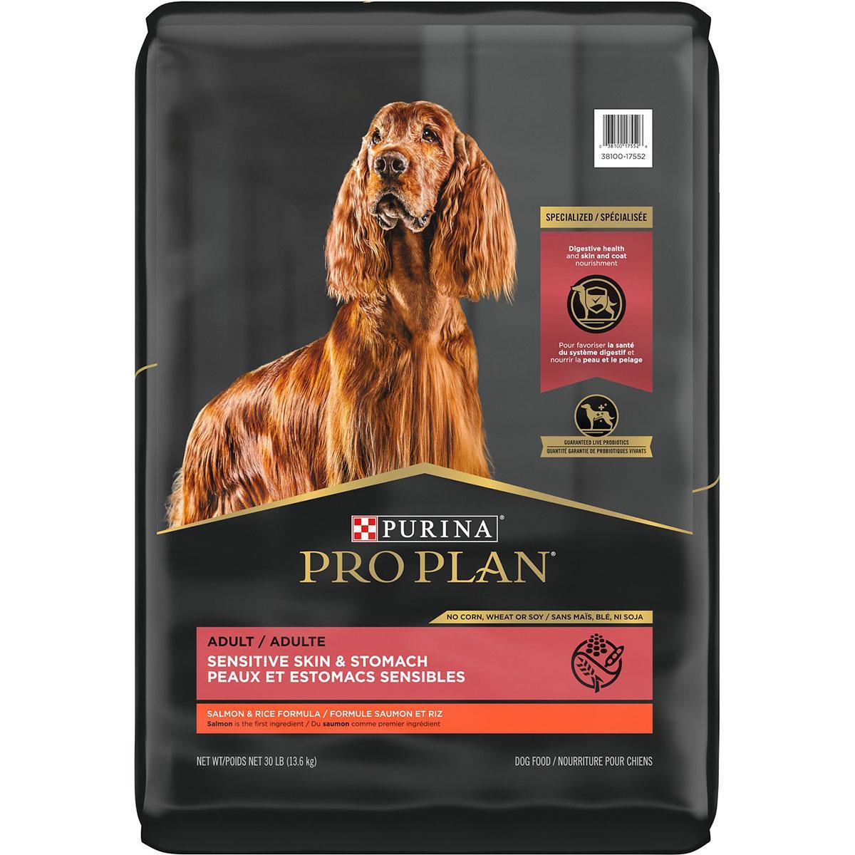 Purina Pro Plan Adult Sensitive Skin & Stomach Dry Dog Food - Salmon & Rice