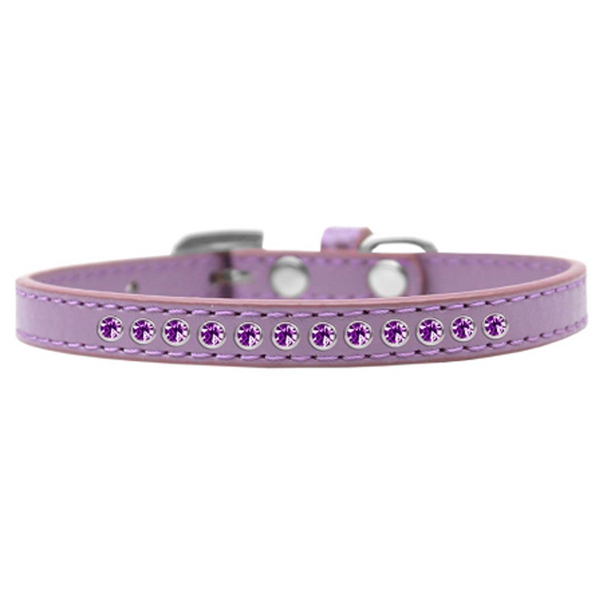 Purple Crystal Puppy Lavender Dog Collar