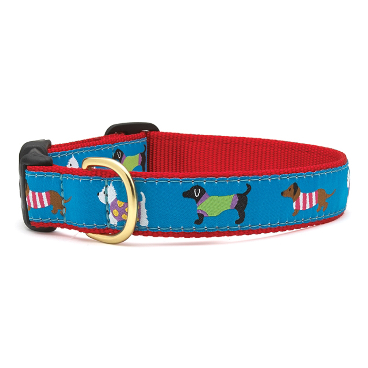 Puttin' on the Knits Dog Collar by Up Country