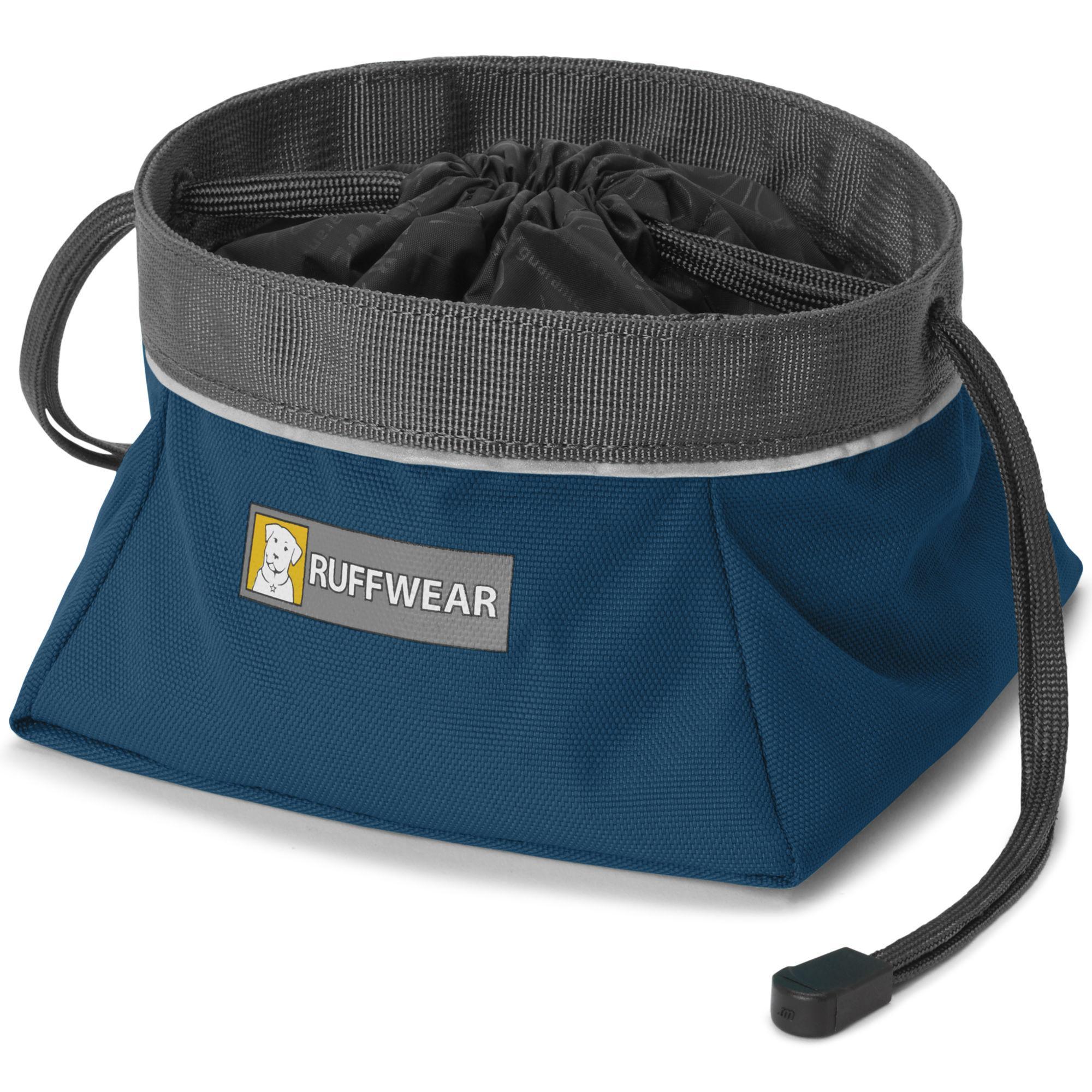 Quencher Cinch Top Dog Bowl by RuffWear - Blue Moon