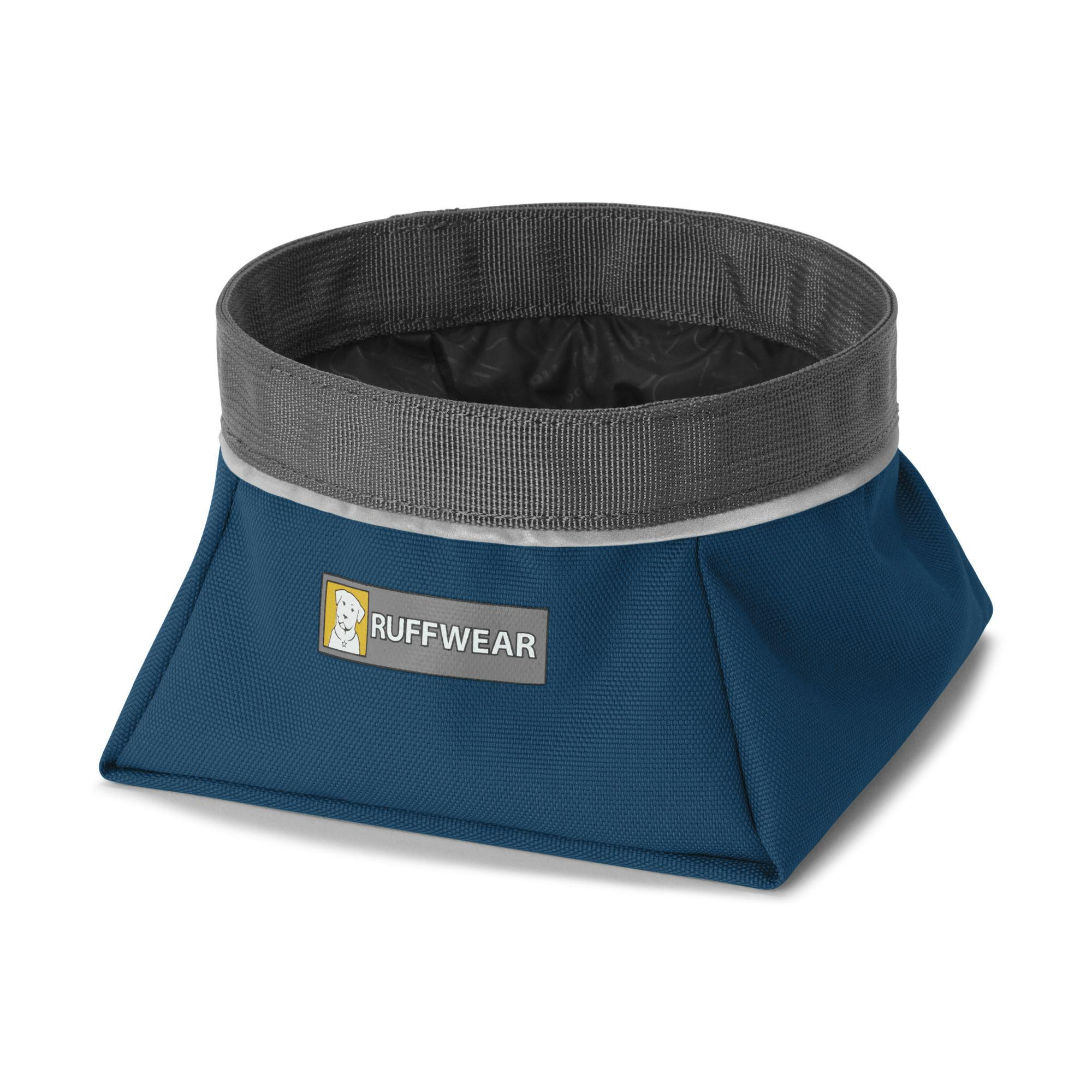 Quencher Travel Dog Bowl by RuffWear - Blue Moon