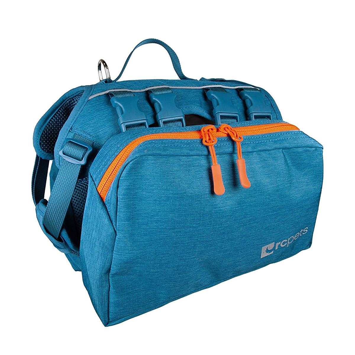 Quest Day Pack Dog Backpack by RC Pet - Heather Teal