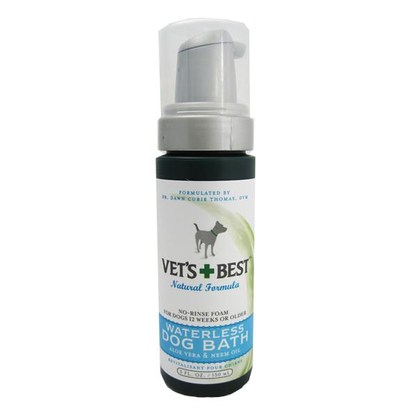Vet's Best Quick Clean Waterless Dog Shampoo