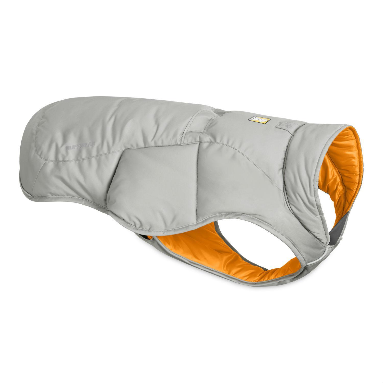 Quinzee  Insulated Dog Jacket by RuffWear - Cloudburst Gray