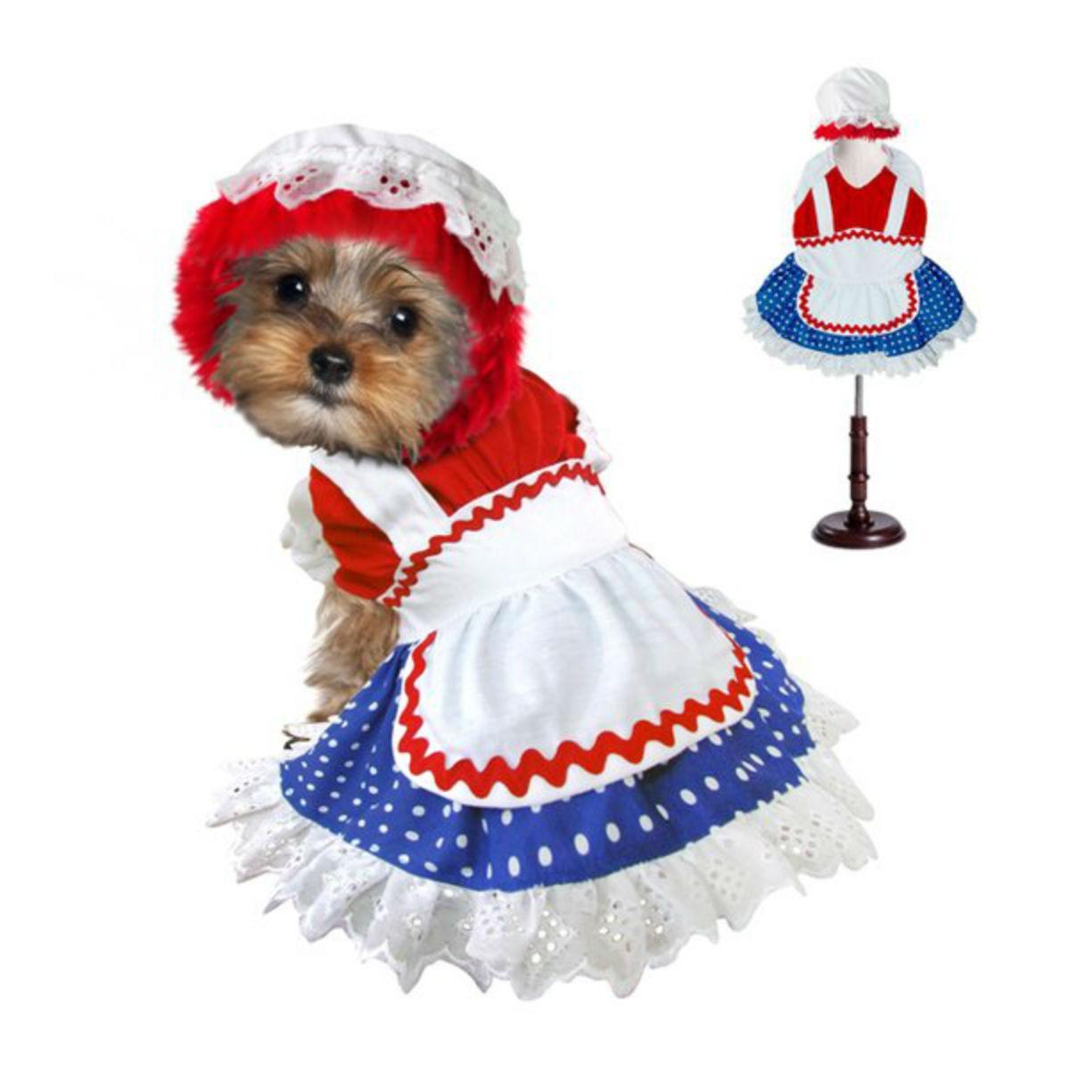 Ragdoll Halloween Dog Costume - Girl