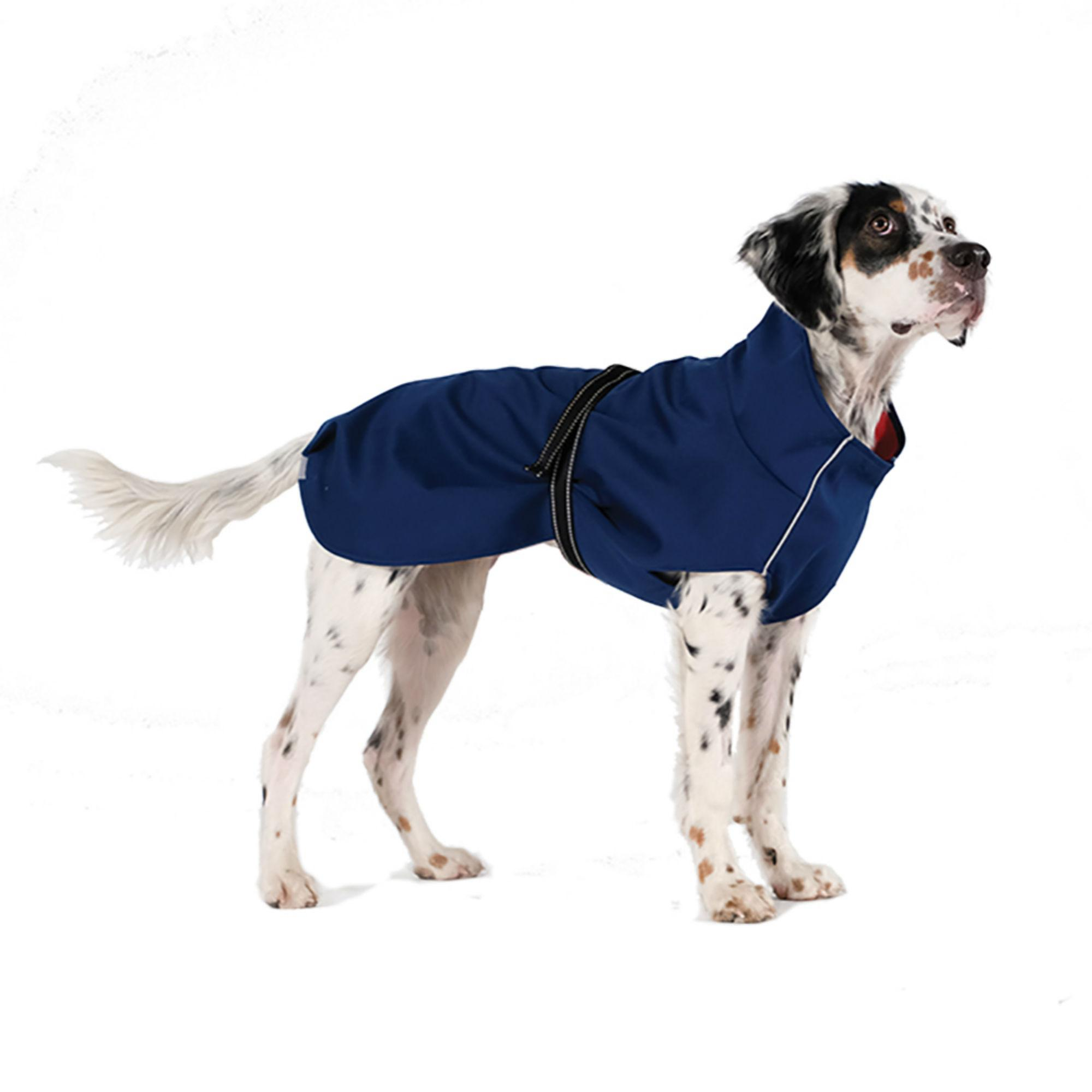 Rain Paw Dog Raincoat by Gold Paw - Navy