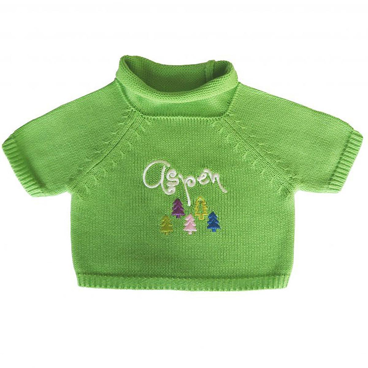 Aspen Dog Sweater by Beverly Hills Dog - Green