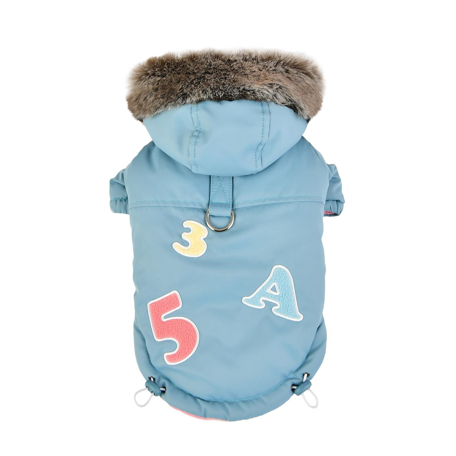 Raissa Dog Coat by Pinkaholic - Aqua