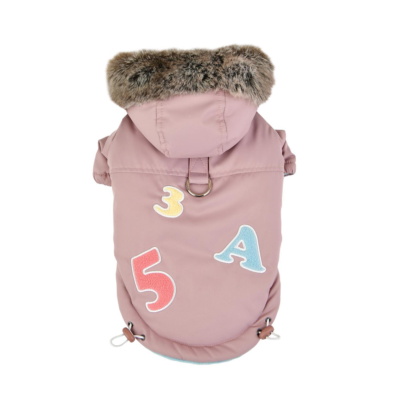 Raissa Dog Coat by Pinkaholic - Indian Pink
