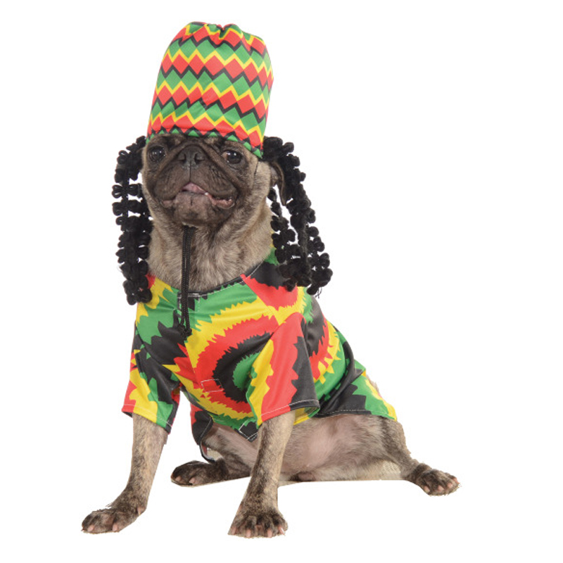 Rasta Dog Costume by Rubies Costumes