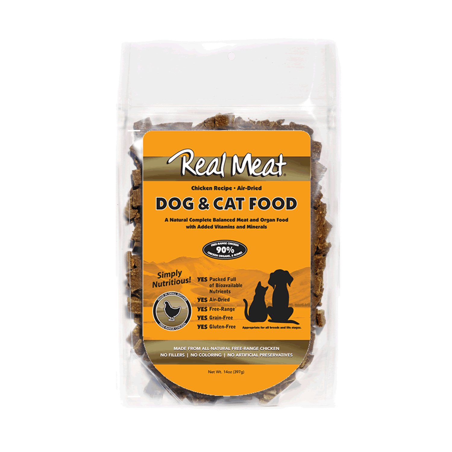 Real Meat Dog and Cat Food - Chicken