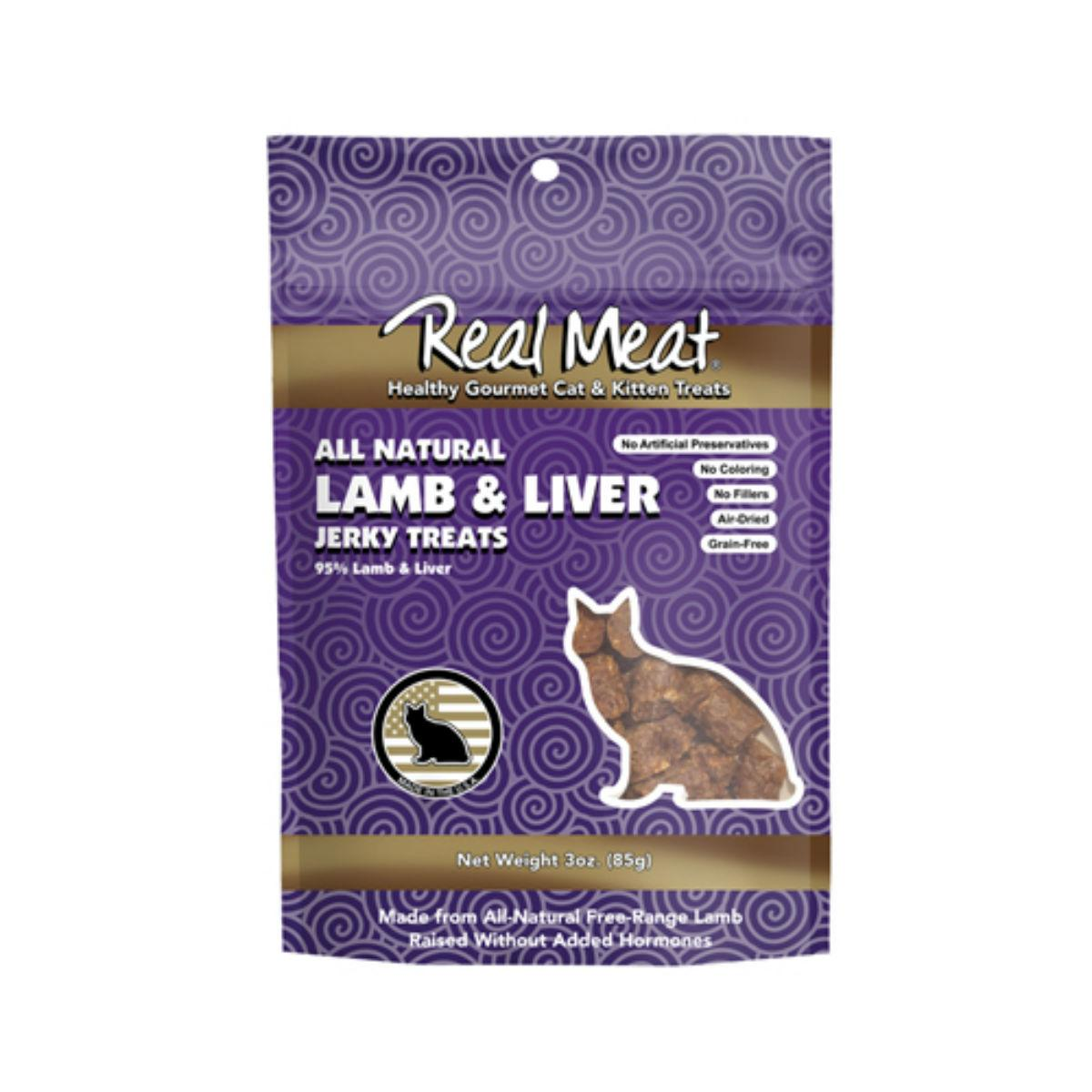 Real Meat Jerky Cat Treat - Lamb Liver