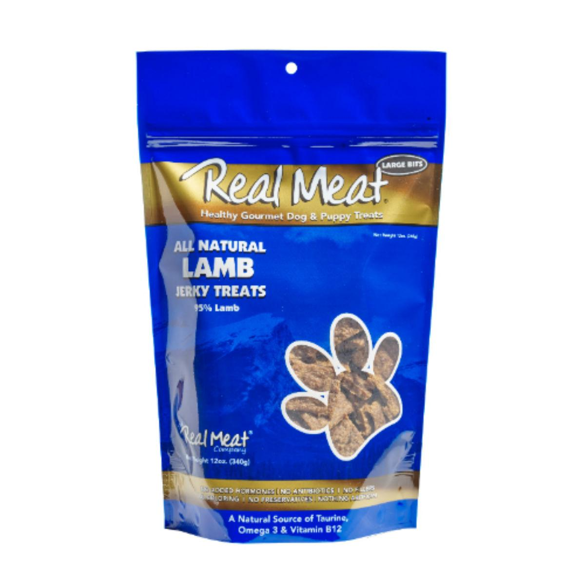 Real Meat Lamb Bitz Jerky Dog Treats