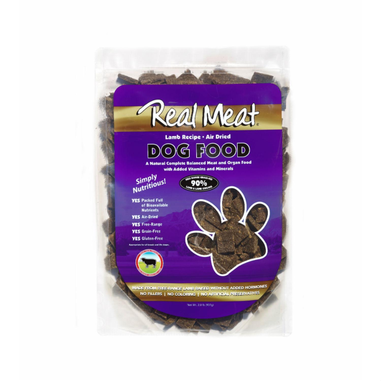 Real Meat Lamb Dog Food