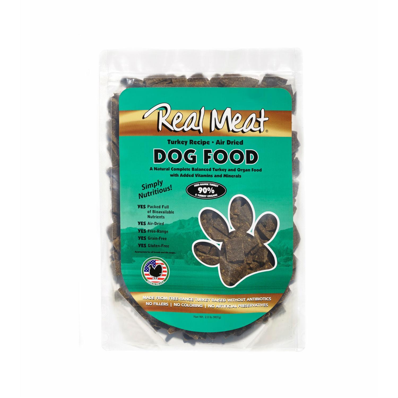 Real Meat Turkey Dog Food
