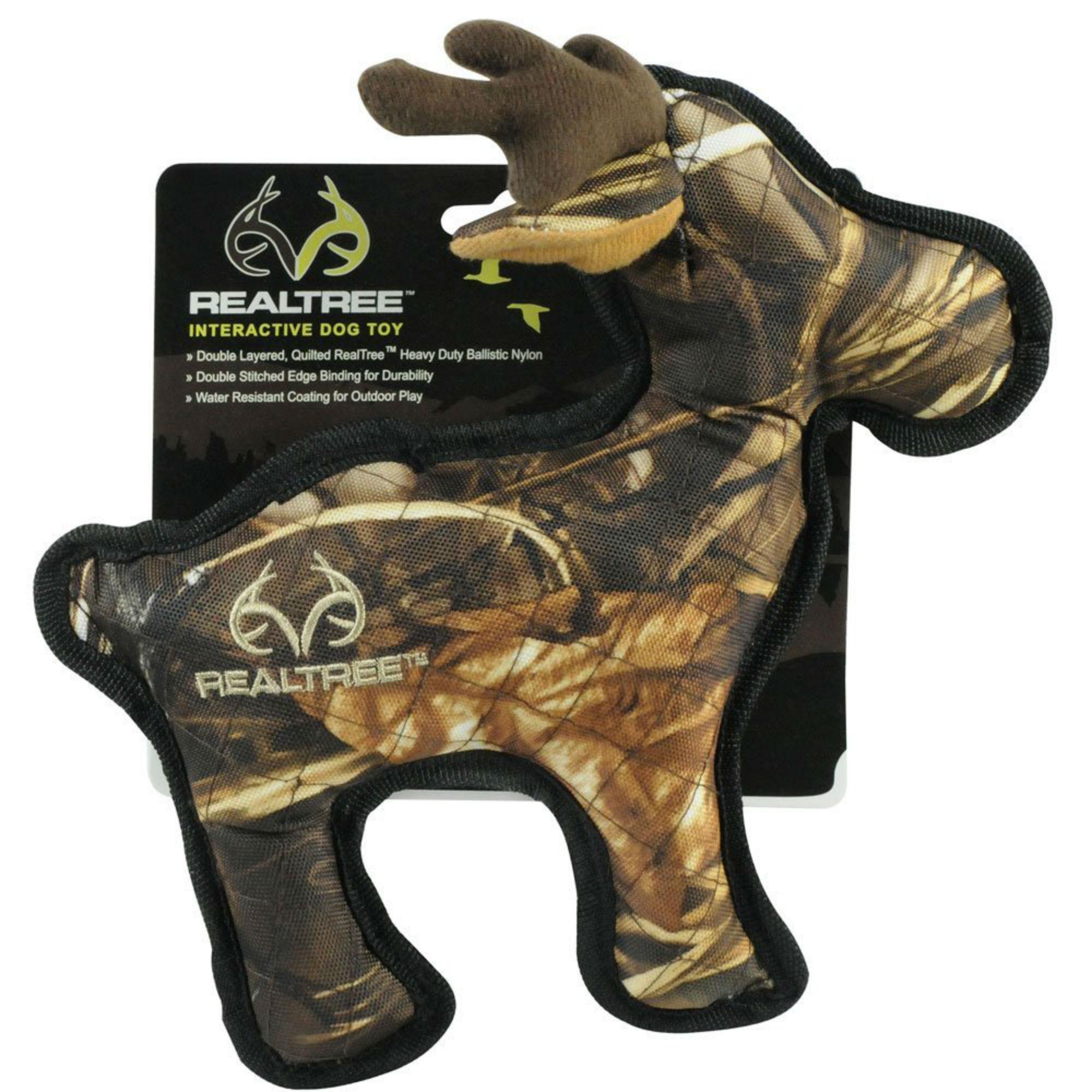 RealTree Camo Tough Dog Toy - Moose