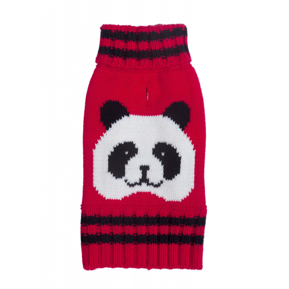 Red Panda Turtleneck Dog Sweater