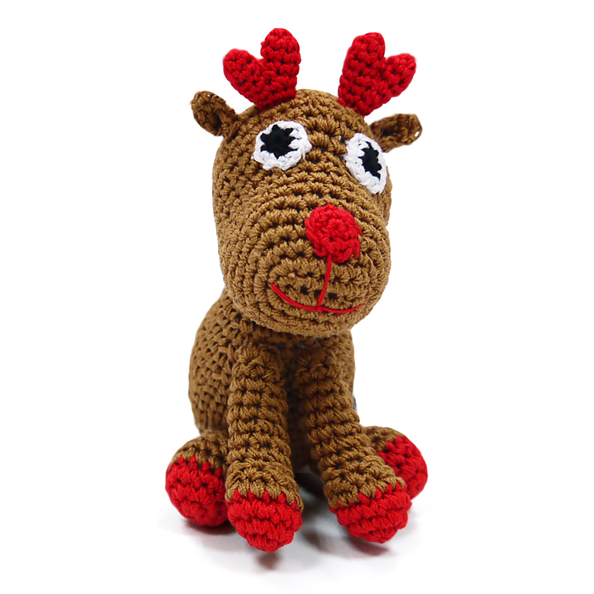 Reindeer Crochet Dog Toy by Dogo