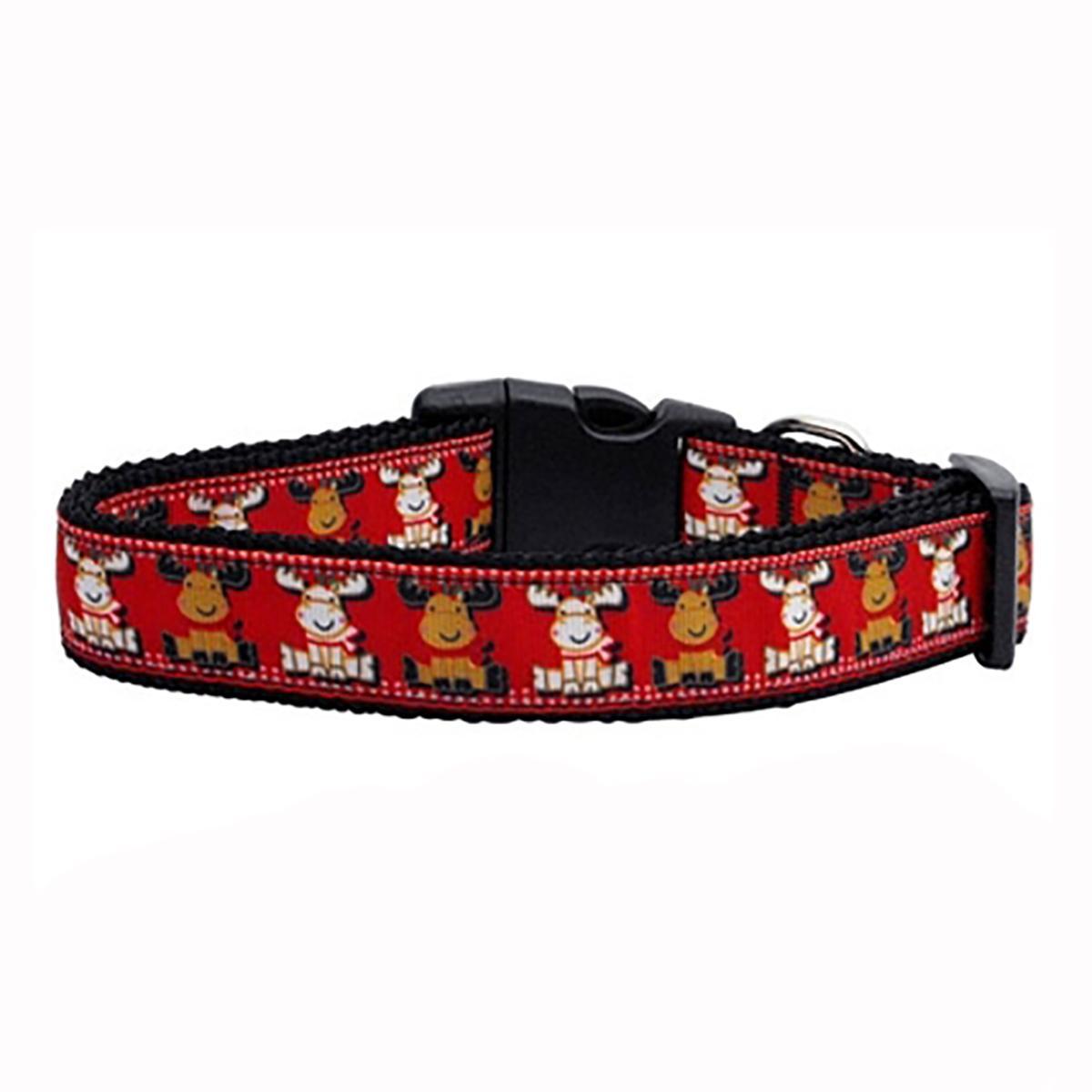 Reindeer Ribbon Dog Collar