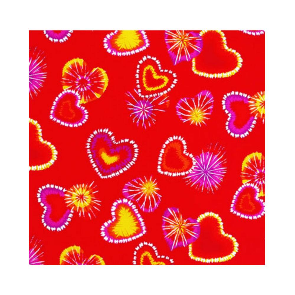 Retro Red Hearts Dog Bandana