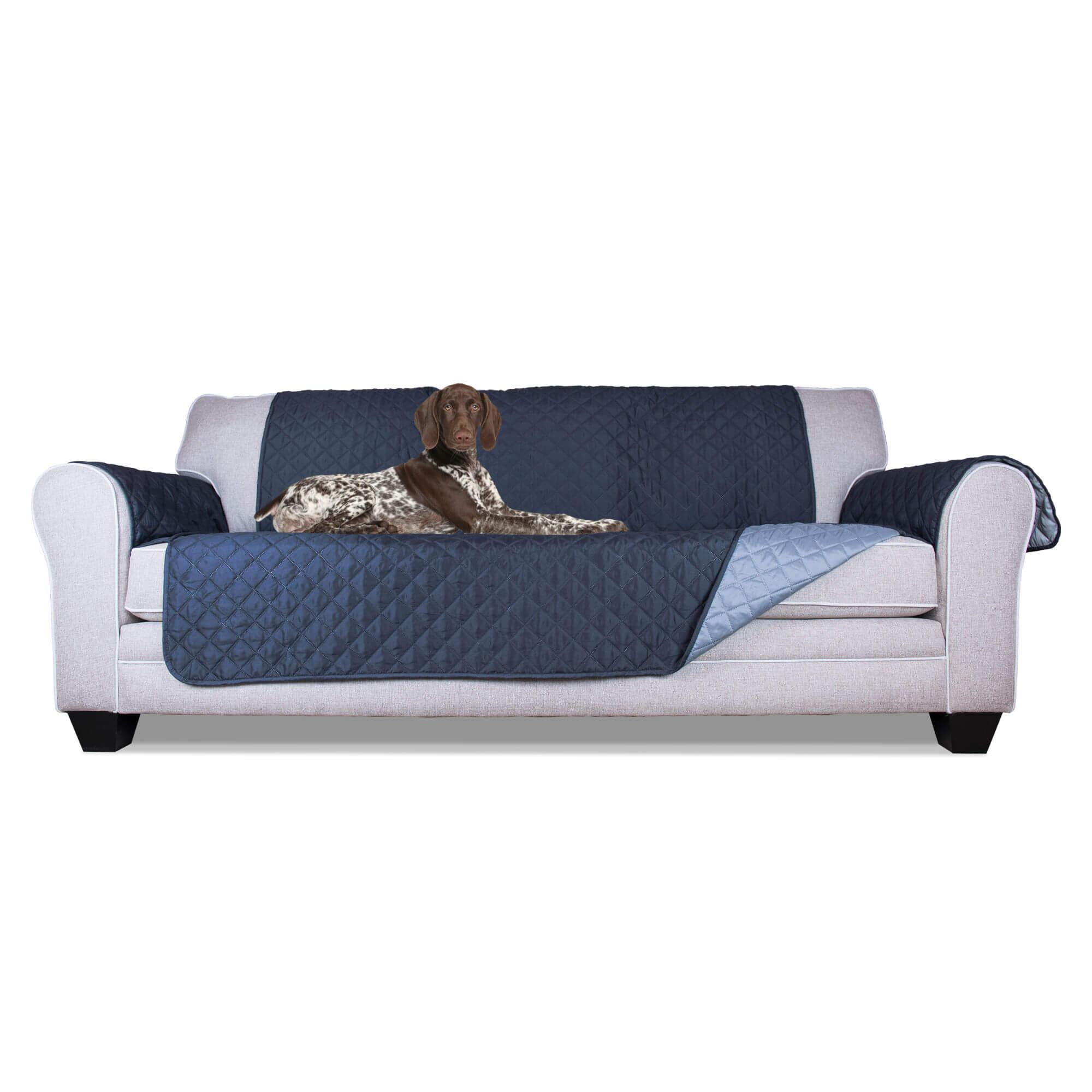 FurHaven Reversible Sofa Protector - Pet Furniture Cover