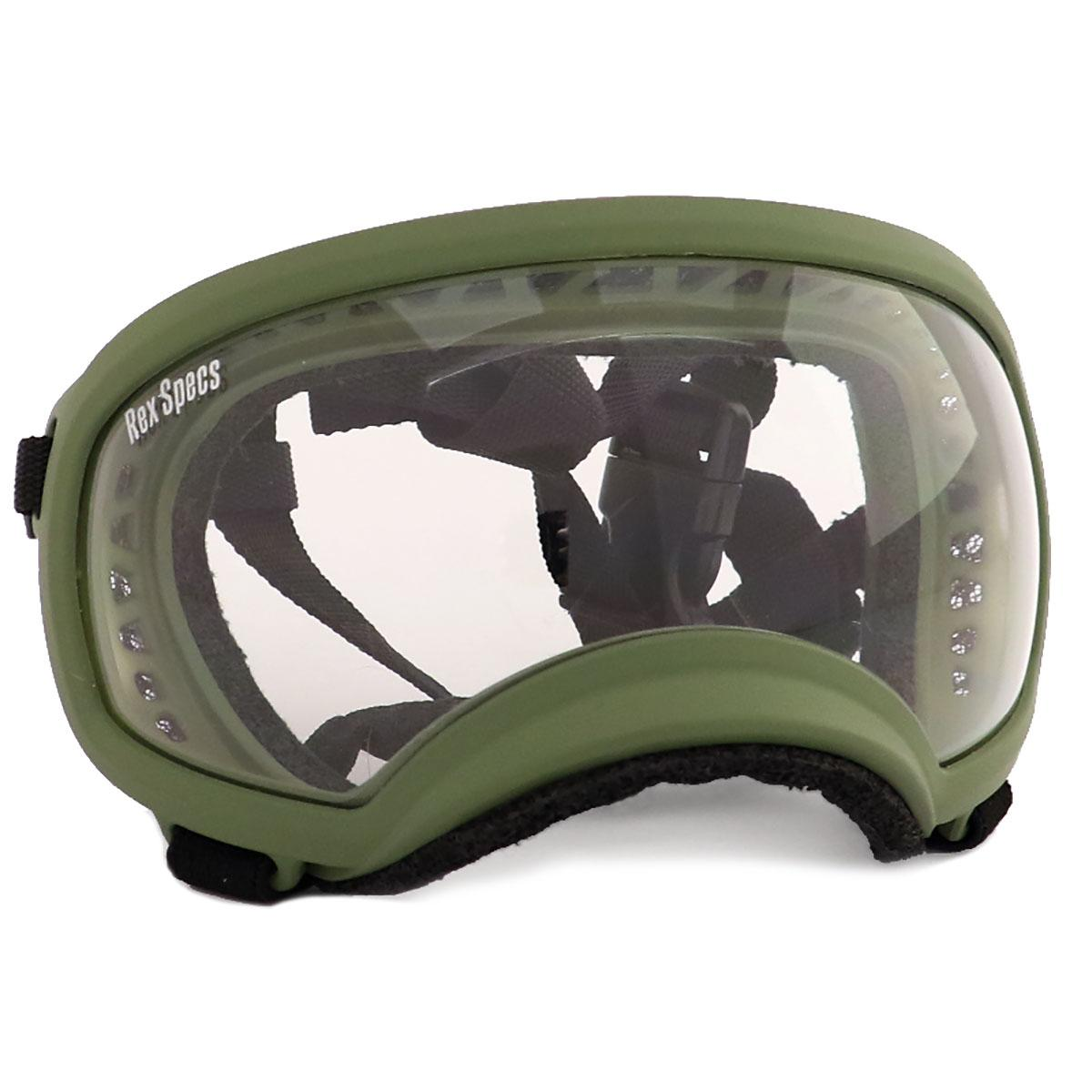 Rex Specs Dog Goggles - Army Green