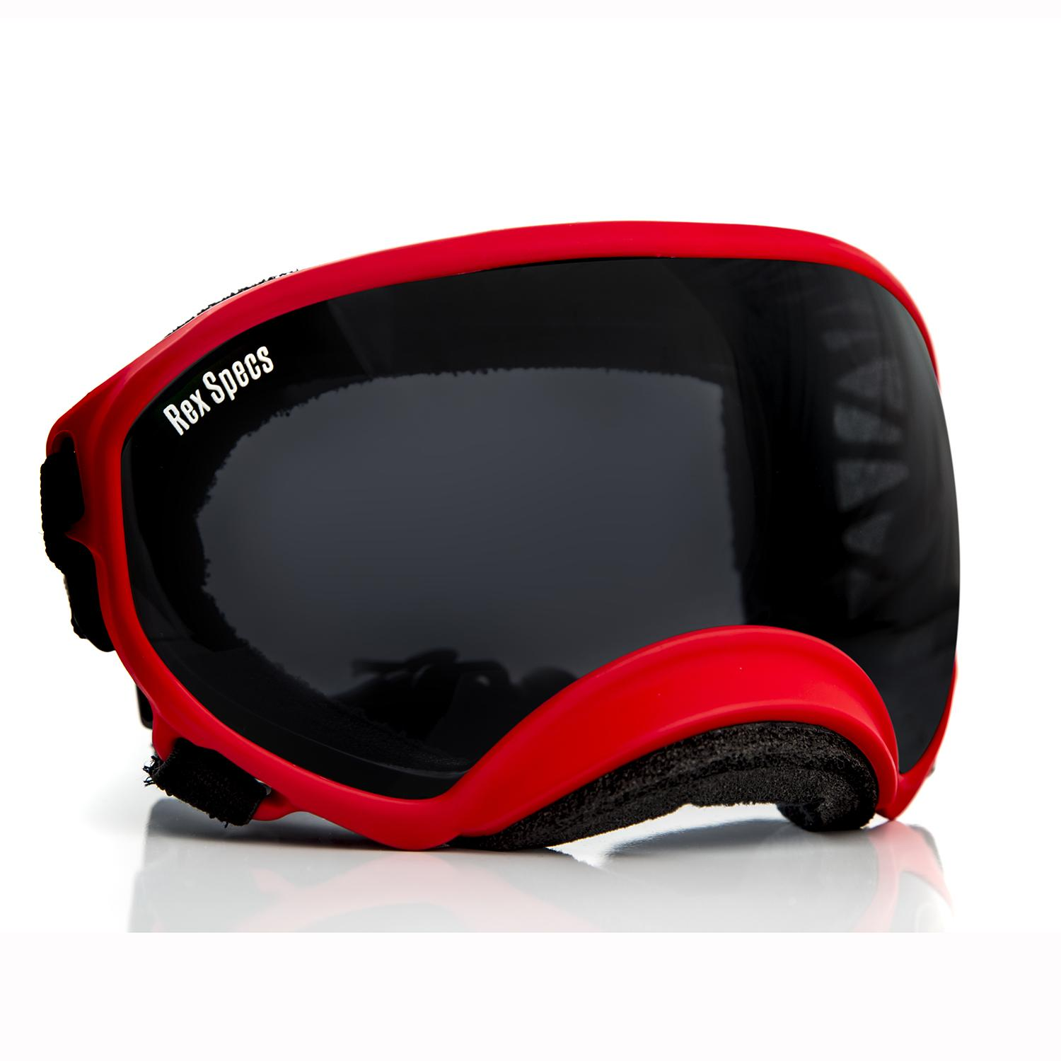Rex Specs Dog Goggles - Red