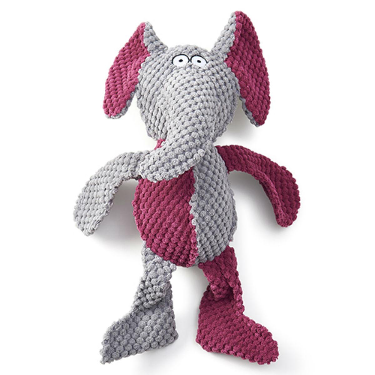 RibRageous Dog Toy - Pinky the Elephant