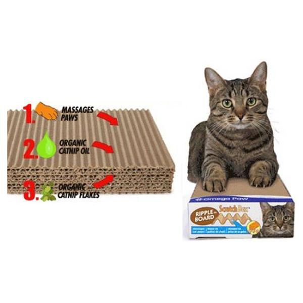 Ripple Board Cat Scratch Box