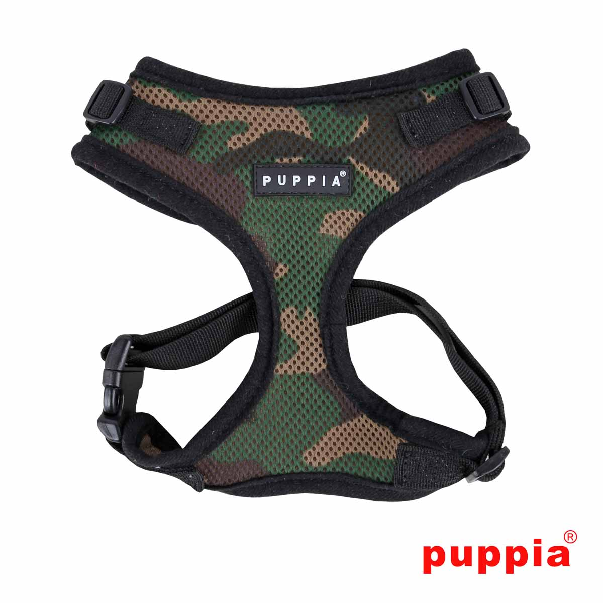 Ritefit Soft Dog Harness by Puppia - Camo