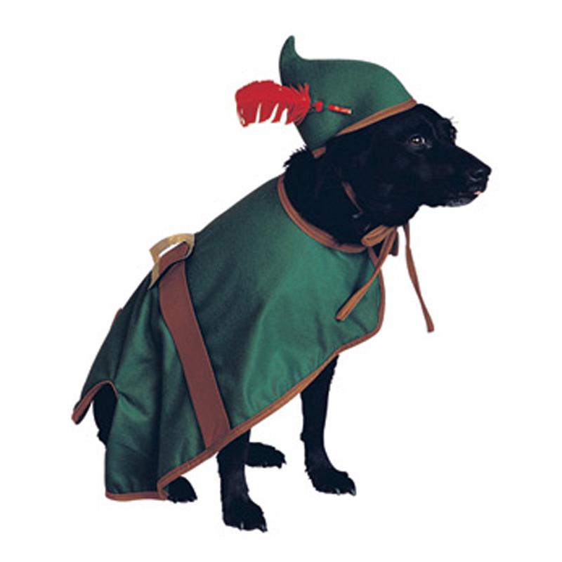 Robin Hood Dog Halloween Costume with Same Day Shipping | BaxterBoo