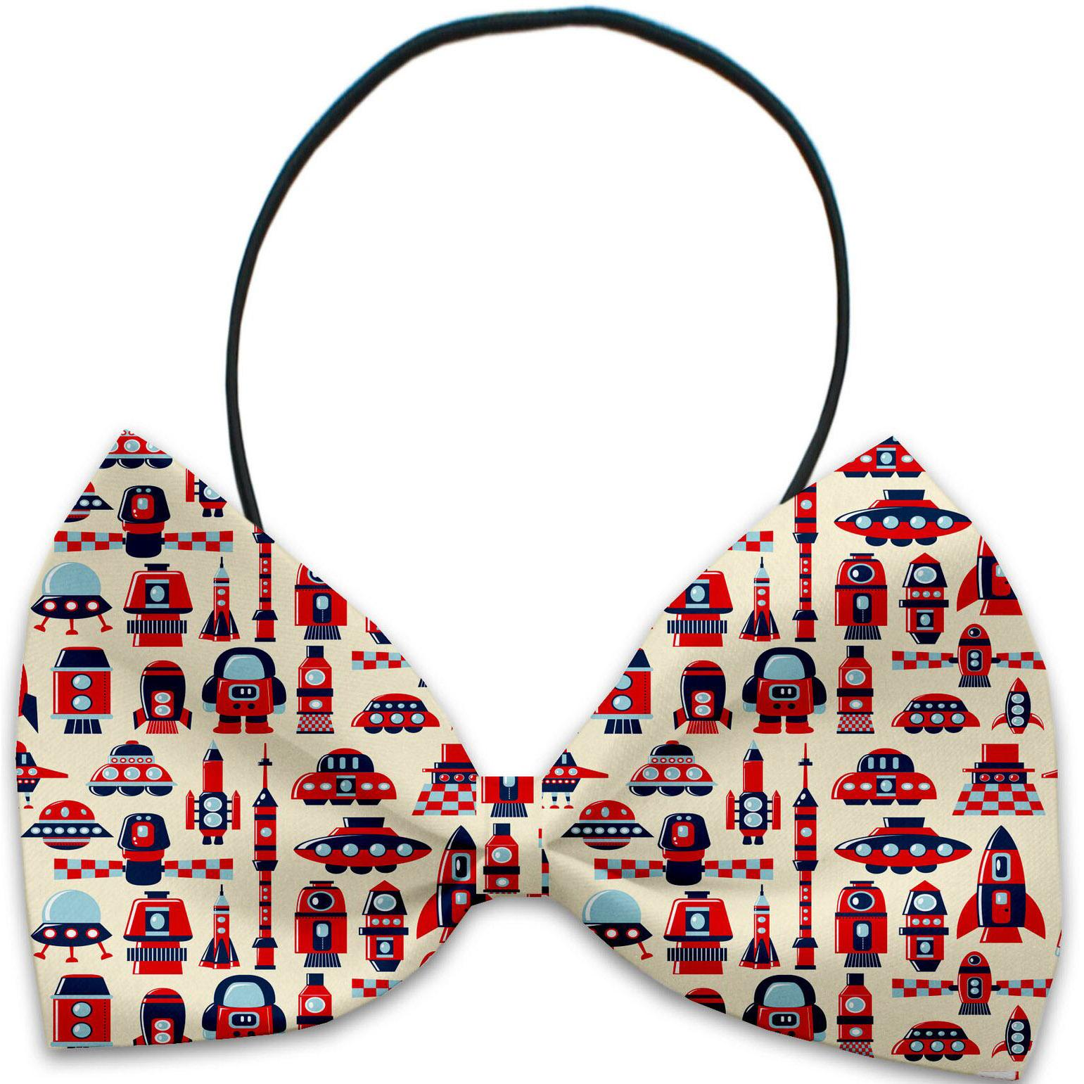 Mirage Rocket Man Dog Bow Tie
