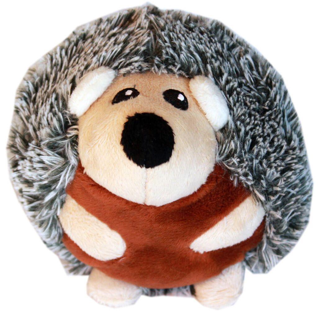 Roundimal Squeaky Dog Toy - Hedgehog